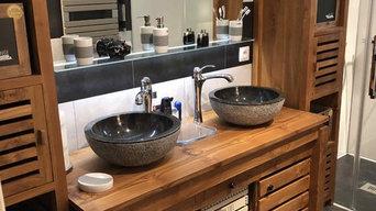 Remplacement de baignoire par une douche à l'Italienne et rénovation CARPENTRAS