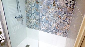 Remplacement de la baignoire par une douche