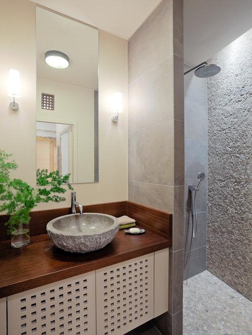 Salles de bains et wc avec une douche l 39 italienne - Salle de bains a l italienne ...