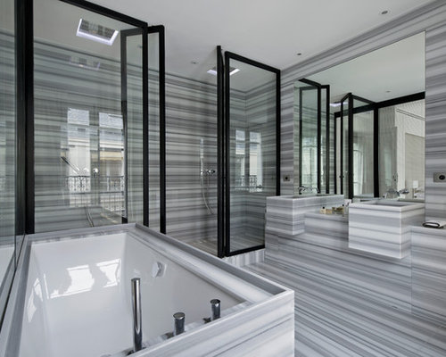 salle de bain contemporaine photos et id233es d233co de