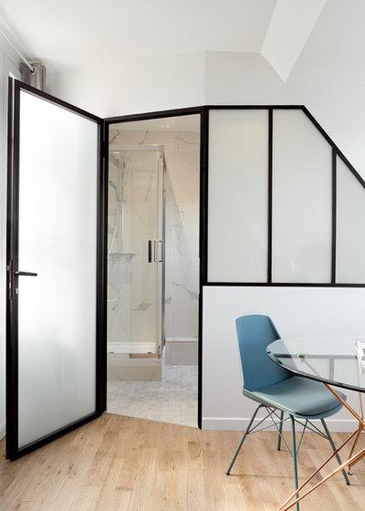 Exotique Salle de Bain by Lagom architectes