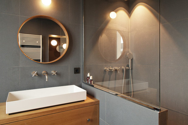 Contemporary Bathroom by Boclaud Architecture