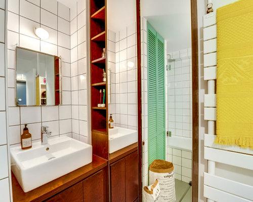 salle de bain avec des carreaux de céramique : photos et idées ... - Ceramique Salle De Bain Photo