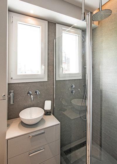 コンテンポラリー 浴室 by Jean-Christophe Peyrieux