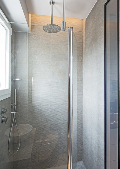 Contemporary Bathroom by Jean-Christophe Peyrieux