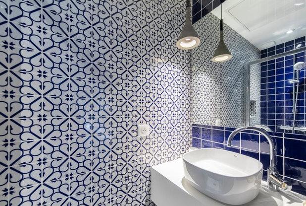 Современный Ванная комната by Octant Design