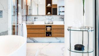 Rénovation d'une salle de bain à Villefranche sur mer