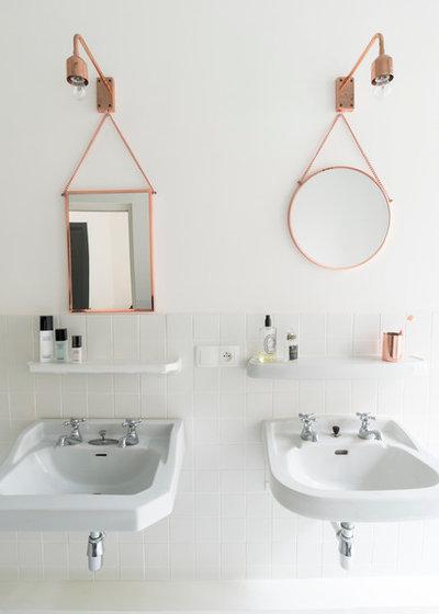 Scandinavian Bathroom by Fusion D