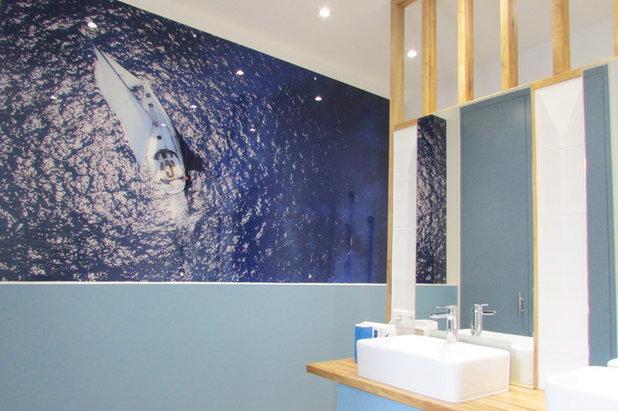 Maritim Badezimmer by Agence UNIKA
