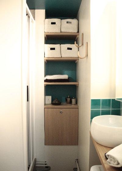 Industrial Bathroom by ODC Design d'Espace