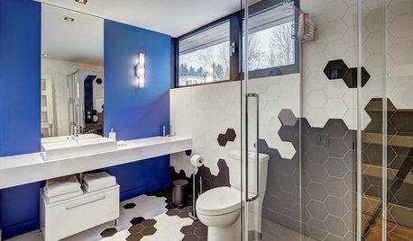 13 façons surprenantes d'utiliser le carrelage dans la salle de bains