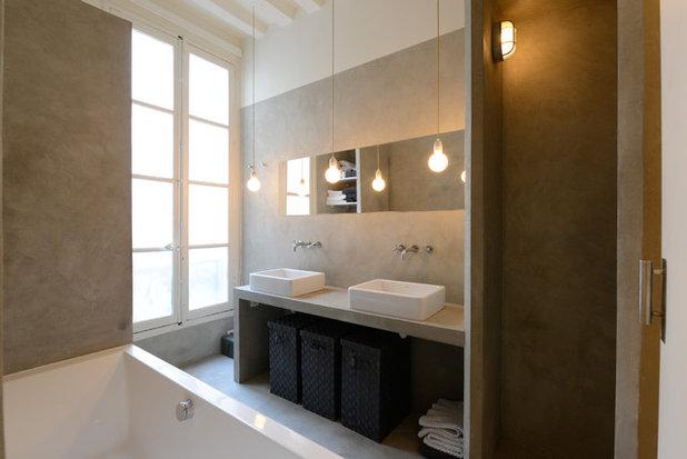 Trendy Badeværelse by Edouard Vigreux - Architecte DPLG