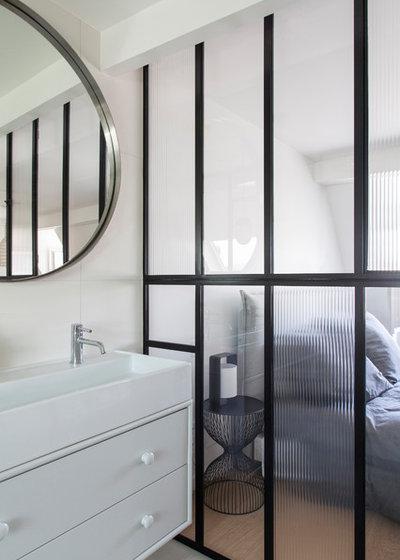 Visite Privée : Un loft parisien en duplex prend un air de jardin