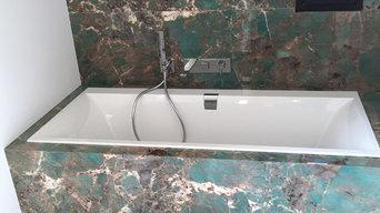 Salle de bain Granite Amazonite