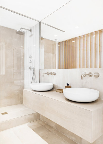 Contemporain Salle De Bain By ABFD
