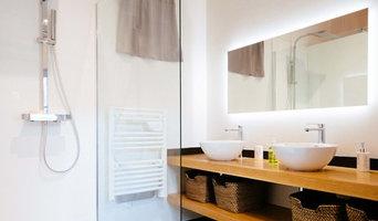 Salle de bain - Rénovation d'un appartement dans l'hyper centre de Toulouse