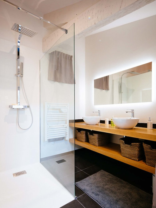 Small Bathroom Design Ideas Remodels Photos With Black Tile