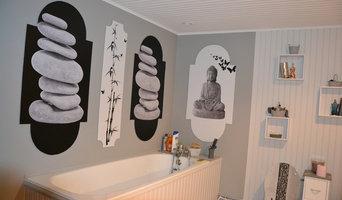 """salle de bain zen """"home staging"""