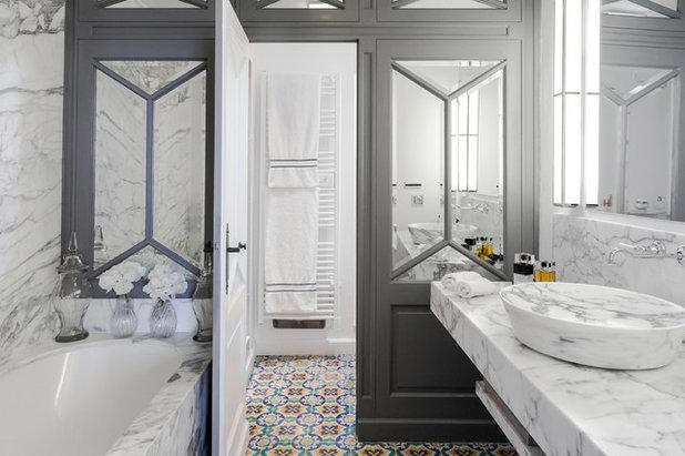 Traditional Bathroom by GILLES DELFINO