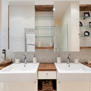Idees Deco Pour Une Salle De Bain Principale Classique Taille Moyenne Avec Un Plan