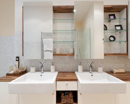 salles de bains et wc classiques de taille moyenne photos et id es d co de salles de bains et wc. Black Bedroom Furniture Sets. Home Design Ideas