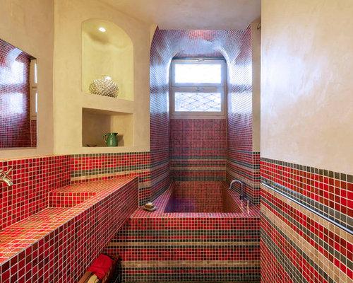 Foton och badrumsinspiration för medelhavsstil en-suite badrum ...