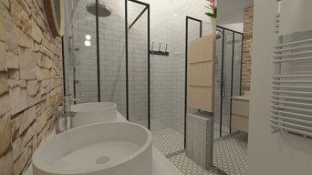 Salle de douche de 4.5m² - MEYLAN
