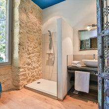 Inspirations pierres, salles de bain