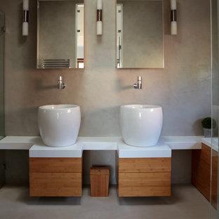 Salle de bain en béton ciré : Photos et idées déco