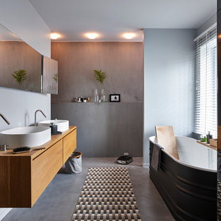 Moderne Badezimmer in Grenoble Ideen, Design & Bilder | Houzz