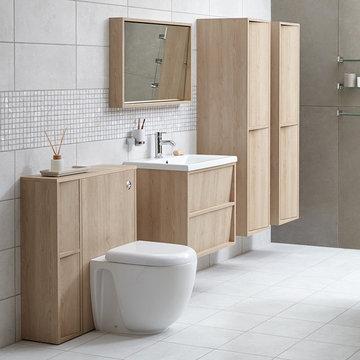 Slant Bathroom