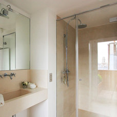 Modern Bathroom by A+B KASHA Designs