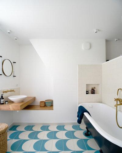 Modern Badezimmer by Texier et Soulas