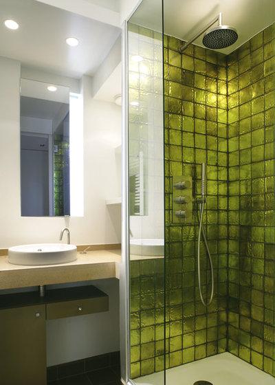 Esprit de saison : Osez les couleurs hivernales dans la salle de bains