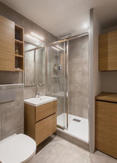 Скандинавский Ванная комната by ARCHITECT + DESIGNER