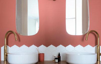 Просто фото: 18 фартуков для ванной комнаты