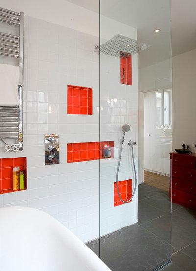 Crea nicchie in bagno per piccoli oggetti - Oggetti da bagno ...