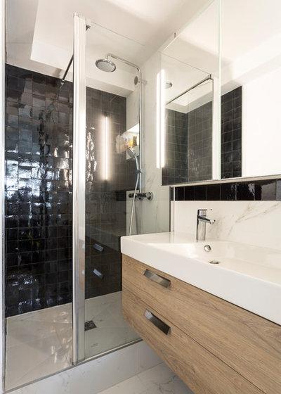 Skandinavisch Badezimmer by Emilie Melin architecte DPLG