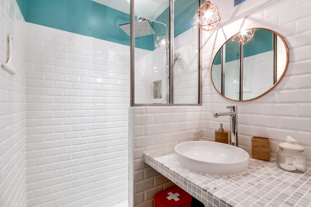 Scandinave Salle de Bain by Decor Interieur