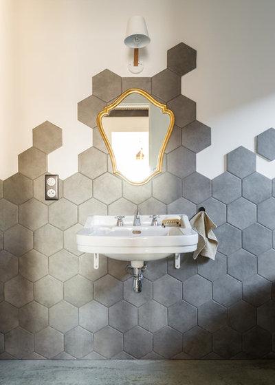 コンテンポラリー 浴室 by Aurélien Vivier