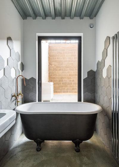 contemporain salle de bain by aurlien vivier