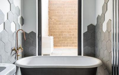 6 ovanliga lösningar för små badrum