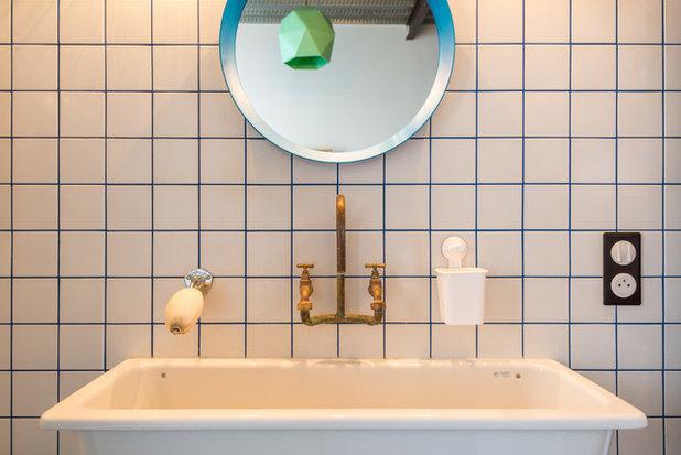 Современный Ванная комната by Aurélien Vivier