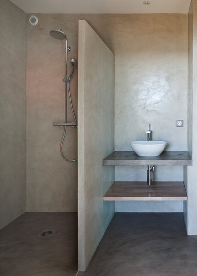 Contemporain Salle de Bain by frederique legon pyra  architecte