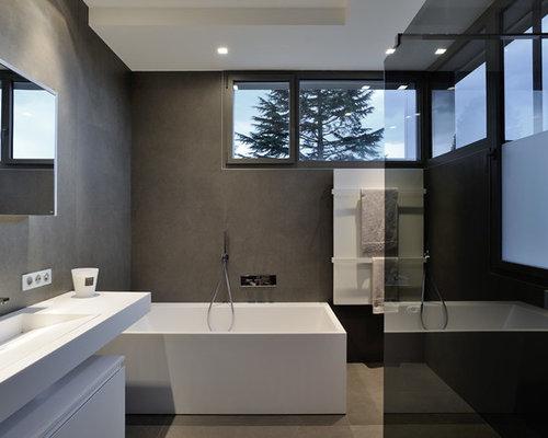 Salle de bain contemporaine : Photos et idées déco de salles de bain