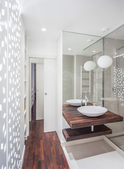 Contemporain Salle de Bain by AP ARCHITECTES