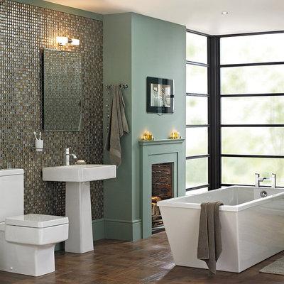 Eclectic Bathroom by bathstore