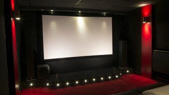 Salle de cinéma privé