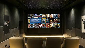 Salle de cinéma privée - Cap d'Antibes