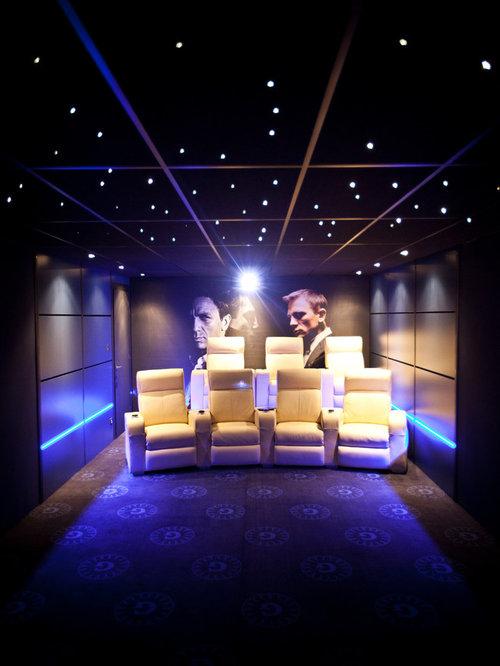 Création d\'une salle de cinéma privée chez un particulier sur le ...